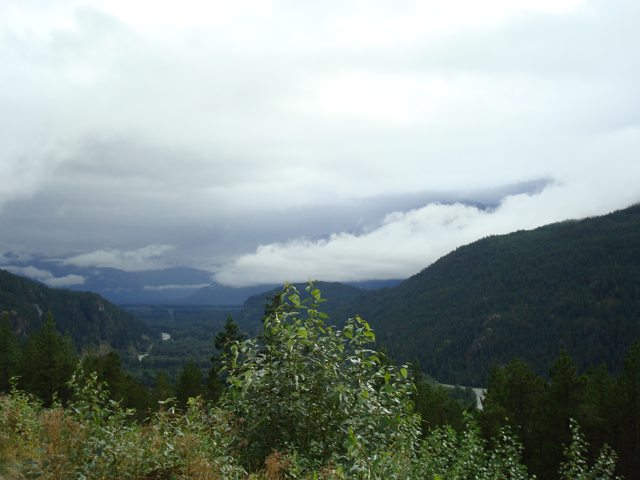 Somewhere between Whistler and Vancouver
