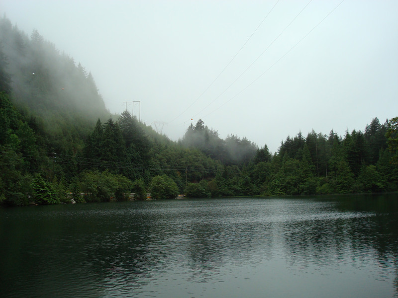 A tiny lake on the way to Whistler