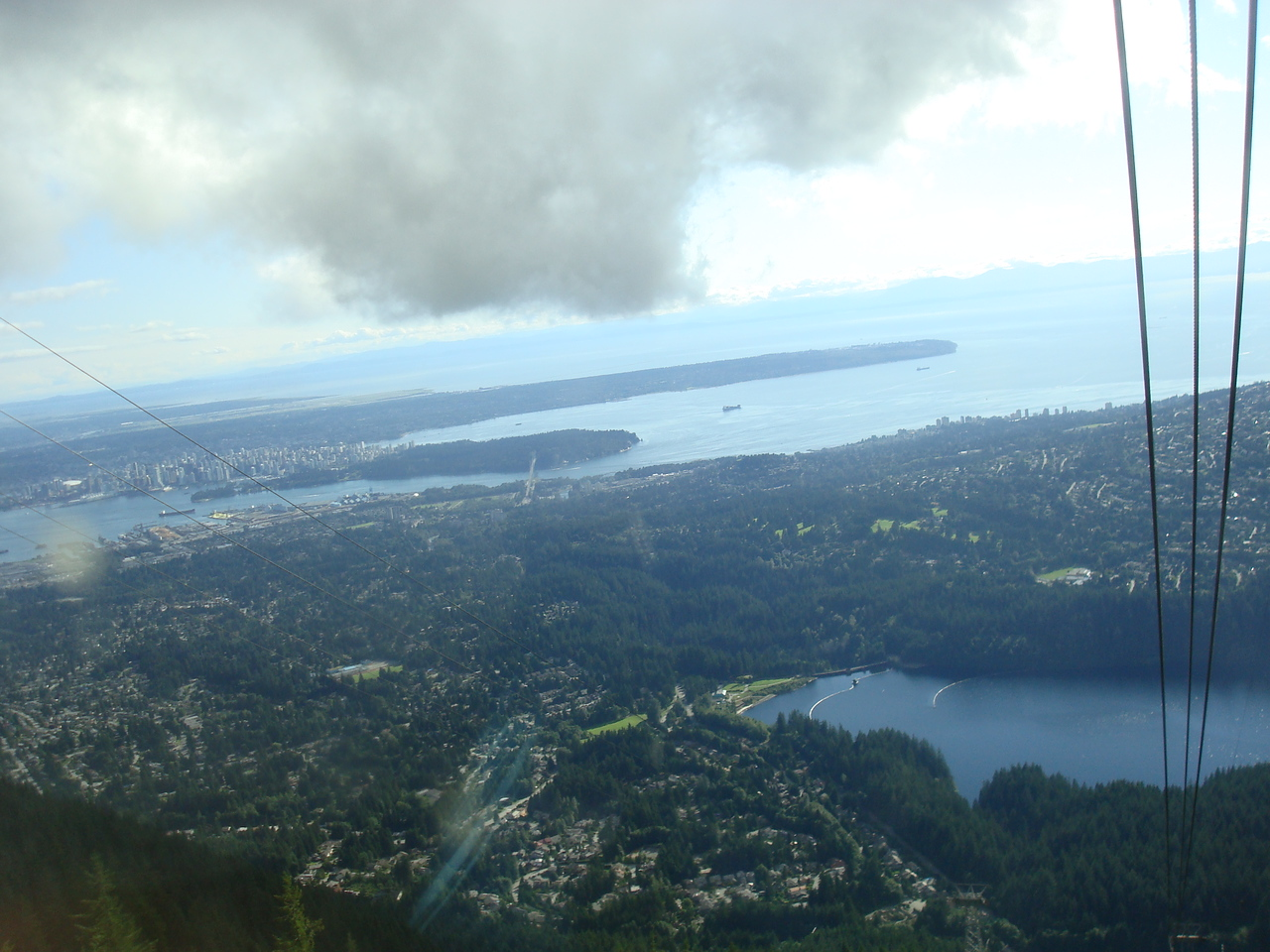 At Grouse Mountain