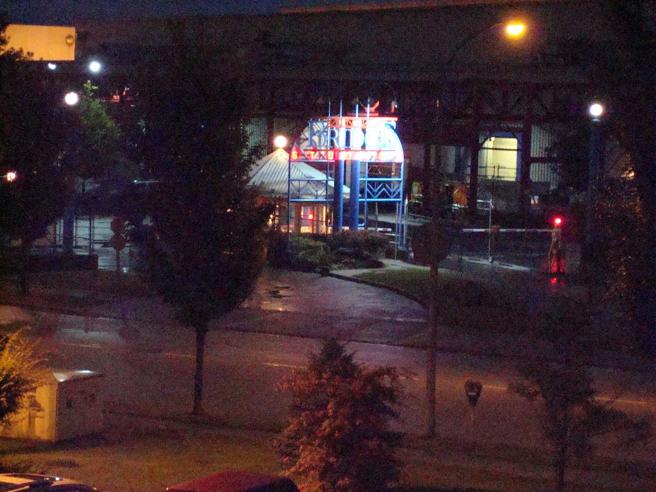 Bridge Studios, where Stargate is filmed, across the street from our hotel