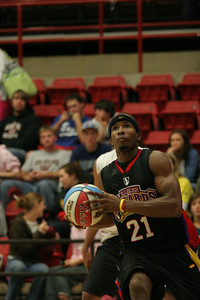 Gardner-Webb basketball teams were welcomed into the gym by fans, followed by a game of the Harlem Wizards against various Gardner-Webb faculty, and students.