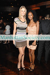 """NEW YORK-SEPTEMBER 18: Sports Illustrated Swimsuit model Julie Henderson and Actress Nicole Fiscella from CW's """"Gossip Girl"""" attend Generations Against Genocide (GvG), a division of the Simon Wiesenthal Center, Fall Cocktail Party at the Edison Ballroom on West 47th Street, New York City on Thursday, September 18, 2008 (Photo Credit: Gregory Partanio/ManhattanSociety.com)"""