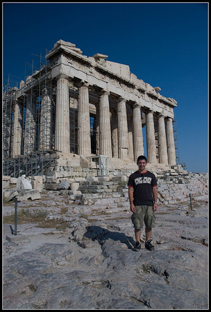 Aaron the Parthenon, in Athens, Athens.