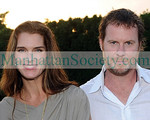 Brooke Shields, Husband Chris Henchy  August 1, 2008. HAMPTONS MAGAZINE Haley & Jason Binn And Debra Halpert Along With Sara Herbert-Galloway & Alan Becker Host an intimate dinner to celebrate the season . Photos ©ManhattanSociety.com By Gregory Partanio 2008