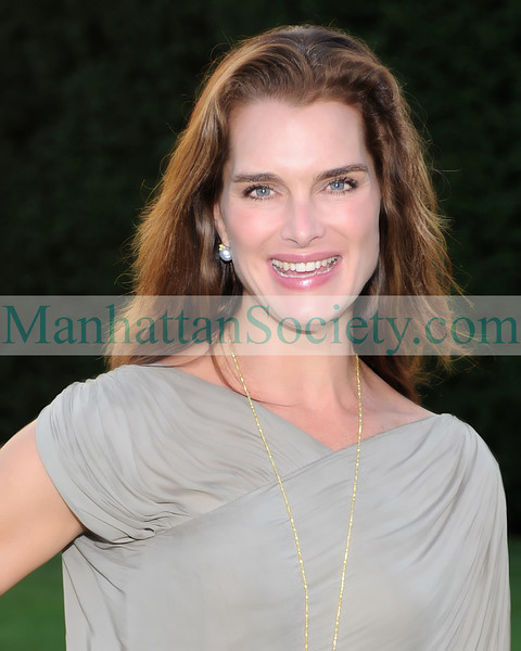 Brooke Shields August 1, 2008. HAMPTONS MAGAZINE Haley & Jason Binn And Debra Halpert Along With Sara Herbert-Galloway & Alan Becker Host an intimate dinner to celebrate the season . Photos ©ManhattanSociety.com By Gregory Partanio 2008