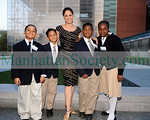 Soledad O'Brien with Students from Harlem Academy