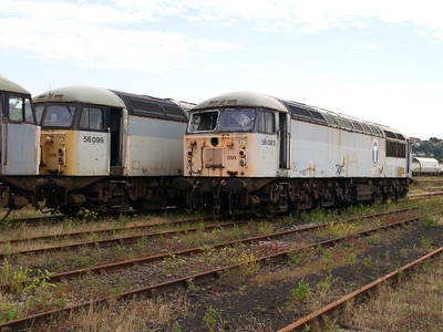 56099 and 56093 at Healy Mills 27/07/08.