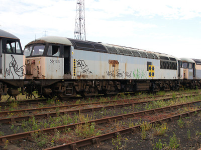 56134 at Healy Mills 27/07/08.