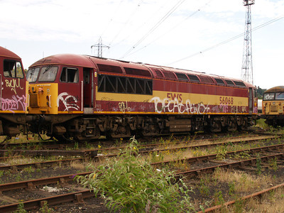 56068 at Healy Mills 27/07/08.