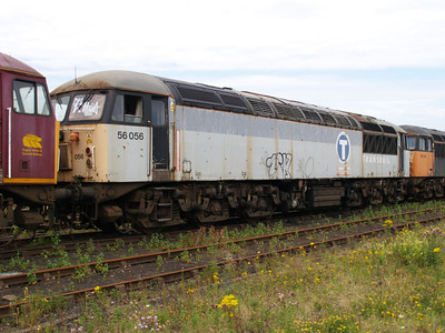 56056 at Healy Mills 27/07/08.