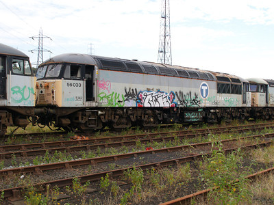 56033 at Healy Mills 27/07/08.