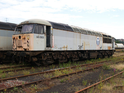 56093 at Healy Mills 27/07/08.
