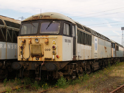 56099 at Healy Mills 27/07/08.