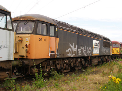 56110 at Healy Mills 27/07/08.