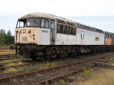 56053 at Healy Mills 27/07/08.