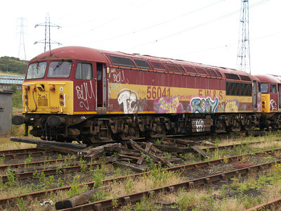 56041 at Healy Mills 27/07/08.