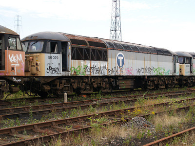 56079 at Healy Mills 27/07/08.
