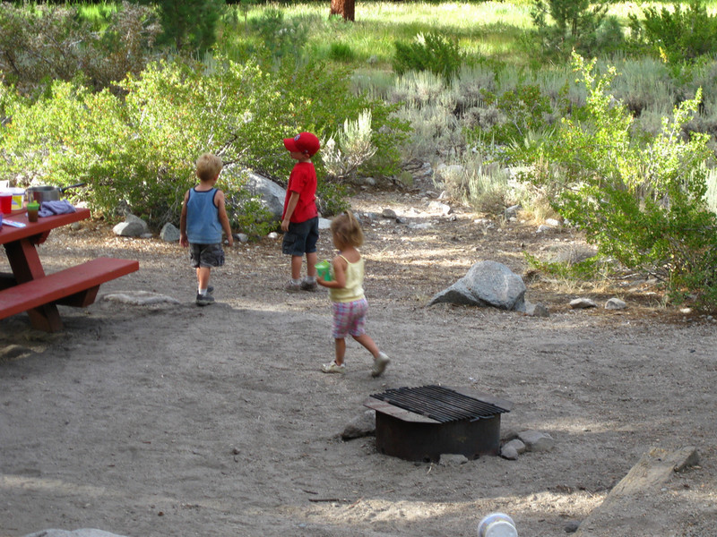 Kids at the camp