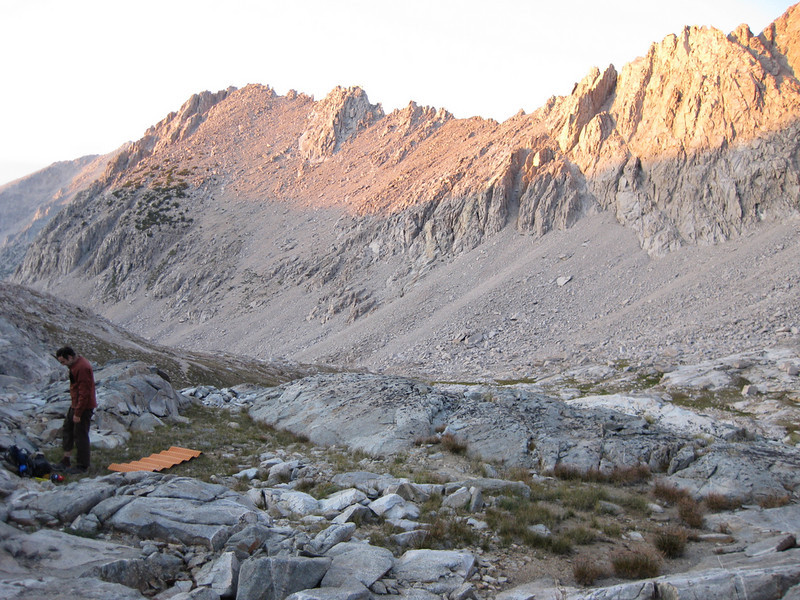 3600m and our camp for the night