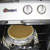 Pie going in