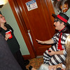 Sarah Palin chats with The Hamburgler