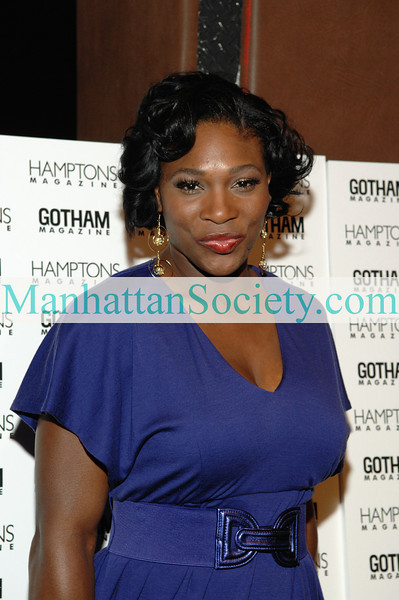 "Serena Williams attends Hamptons and Gotham Magazines' Jason Binn Celebrates Serena Williams' 9th Grand Slam At The 2008 U.S. Open, September 11th 2008 . Pacha 618 west 46st. N.Y. N.Y. 10036<b>PHOTO CREDIT</b>: Copyright © 2008 Manhattan Society.com by <a href=""http://www.manhattansociety.com/founder.html"" target=""_blank"">Gregory Partanio</a>