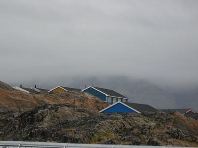 Houses in Uummannaq - Amy Garawitz