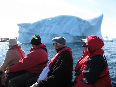 Alumni with iceberg - Amy Garawitz