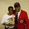 Delores & Curtis C Robinson 99th Fleet Pilot, with the Tuskegee Airmen,.