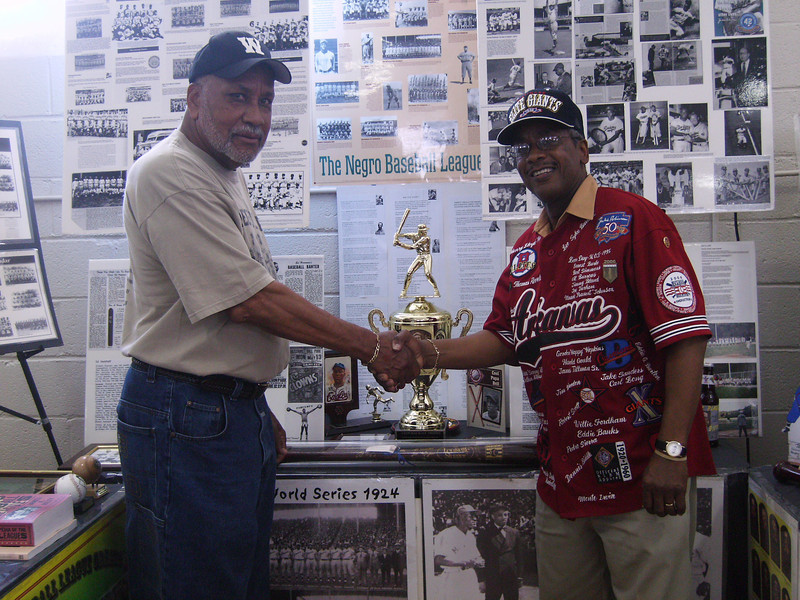 Latheian & Ray Banks, Negro League Goodwill Ambassador