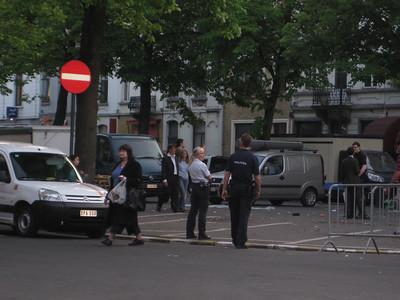 20080506 Liz in Brussels