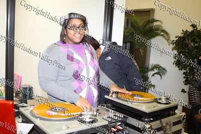 """City of Newburgh Christmas Extravaganza held at the Business Resource Center on December 12, 2008 with DJ """"Miss Perfect Touch"""" providing the musical entertainment."""