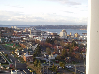 Tacoma from our window