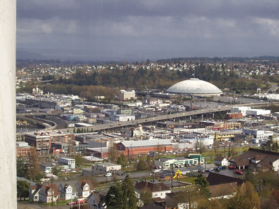Tacoma Dome from our window