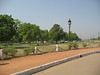 The gardens around India Gate are a popular picnic area on summer evenings.