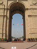 India Gate is straight down the road from Rashtrapati Bhawan.