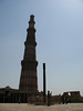 Qutub Minar -- Constructed in 1193.  There are differing opinions as to its purpose - probably a tower of victory, but might have been built to be for the priests to climb up top for prayer.