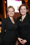 Emily Conner & NYC Council Speaker, Christine Quinn at Cipriani Wall Street for Inwood House Annual 2008 Spring Gala Honoring NYC Council Speaker Christine Quinn & Morrison & Foerster LLP