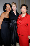 Ghillaine A. Reid, Esq., Kathleen Clarke, Linda Lausell Bryant at Cipriani Wall Street for Inwood House Annual 2008 Spring Gala Honoring NYC Council Speaker Christine Quinn & Morrison & Foerster LLP