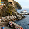 The view from our room in Riomaggiore.