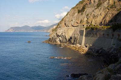 Cinque Terra coastline.