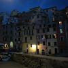 Riomaggiore at night.