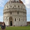 Bapistry in Pisa