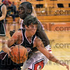 Coming through: Northview'sAustin Akers tries to get past Brave defender D.J. Shouse.