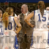 Now hear this: Indiana State coach Jim Wiedie takes a time-out during the first half of the Sycamores' game against Bradley to talk to his team Thursday at Hulman Center.