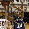 For two: Clay City's #20, Angie Camp puts up a shot for two points during game action at Northview Tuesday evening.