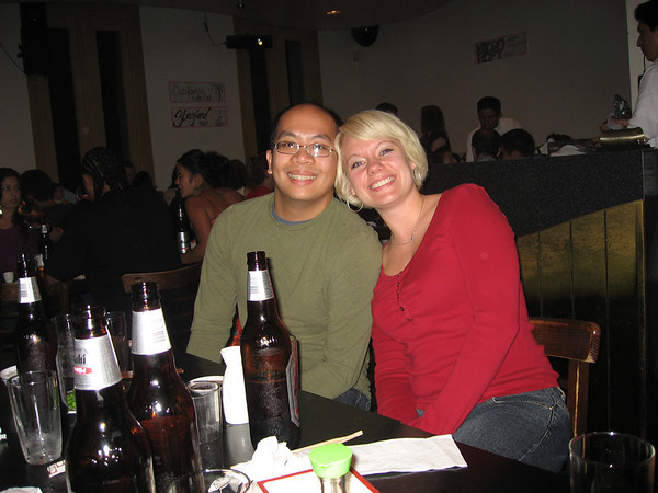 Ken and Stephanie at Miyake's