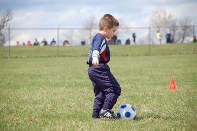Josiah's First Soccer Game- 4-12-08