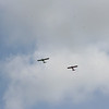 These planes kept flying over and EVERY time they did, they were new and exciting to EC.  So cute!