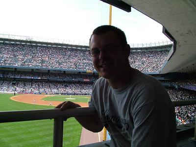 June, New York City & Yankee Game